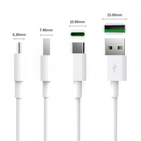 Orico Kabel USB Type C 5A 100cm - ATC-10 - White - 3