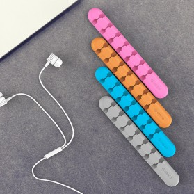 Orico USB Cable Clip - CBS7 - Orange - 3