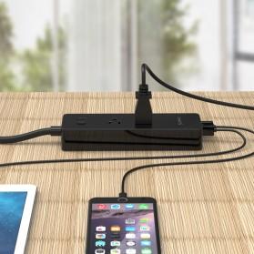 ORICO Stop Kontak Super Charger 2 AC Outlet + 4 USB - IPC-2A4U - Black - 5