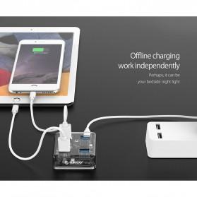 Orico USB Hub 3.0 4 Port Transparent Design 1 Meter - MH4U-U3 - Transparent - 9