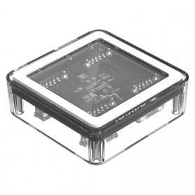 Orico USB Hub 3.0 4 Port Transparent Design 0.3 Meter - MH4U-U3 - Transparent - 8