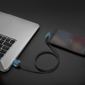 ORICO Kabel Charger USB Type C L Shape 1.2 Meter - HTC-12 - Black - 5