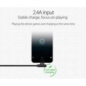 ORICO Kabel Charger USB Type C L Shape 1.2 Meter - HTC-12 - Black - 7