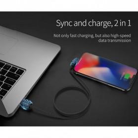 ORICO Kabel Charger USB Type C L Shape 1.2 Meter - HTC-12 - Black - 9