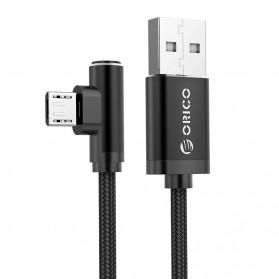 ORICO Kabel Charger Micro USB L Shape 1.2 Meter - HTM-12 - Black