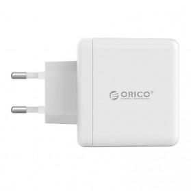 Orico Charger USB 3 Port EU Plug 3A 15W - WHC-3U - White