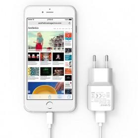 Orico Charger USB 1 Port EU Plug 2A 10W - WHA-1U - White - 3
