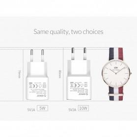 Orico Charger USB 1 Port EU Plug 2A 10W - WHA-1U - White - 6