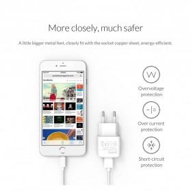 Orico Charger USB 1 Port EU Plug 2A 10W - WHA-1U - White - 8