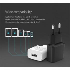 Orico Charger USB 1 Port EU Plug 2A 10W - WHA-1U - White - 9