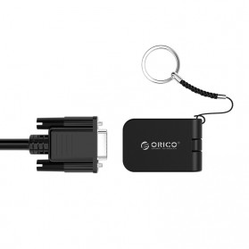 Orico Adapter Converter USB Type C to VGA - XC-112 - Black - 3