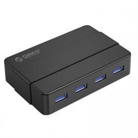 Orico USB Hub 3.0 High Speed 4 Port - H4928-U3 - Black - 1