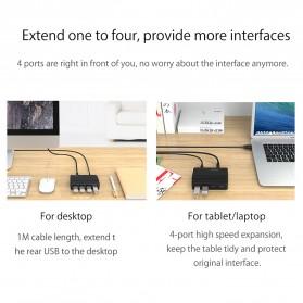 Orico USB Hub 3.0 High Speed 4 Port - H4928-U3 - Black - 5