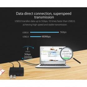 Orico USB Hub 3.0 High Speed 4 Port - H4928-U3 - Black - 8