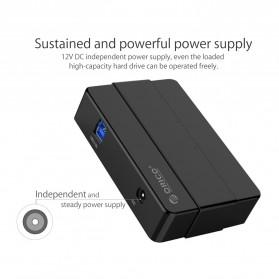 Orico USB Hub 3.0 High Speed 4 Port - H4928-U3 - Black - 9