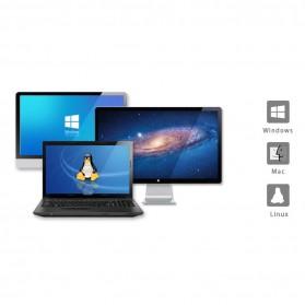 Orico USB Hub 3.0 High Speed 4 Port with Laptop Stand - M4U3 - Silver - 10