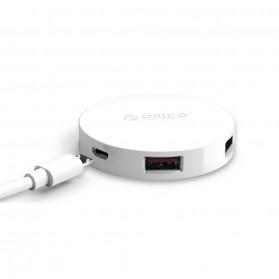 Orico USB Hub 3.0 4 Port Meter with Data Cable - HA4U-U3 - Black - 7