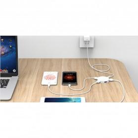 Orico USB Hub 3.0 4 Port Meter with Data Cable - HA4U-U3 - Black - 8