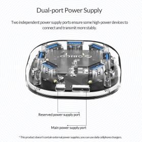 Orico USB Hub 3.0 7 Port Transparent Design 1 Meter - H7U-U3 - Transparent - 8
