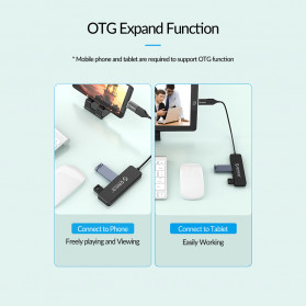 ORICO USB Hub 2.0 4 Port - FL01 - Black - 7