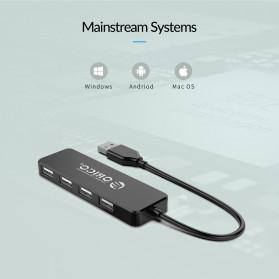ORICO USB Hub 2.0 4 Port - FL01 - Black - 9