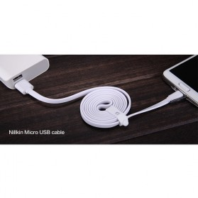 Nillkin Charger Cable Micro USB for Smartphone - White - 10