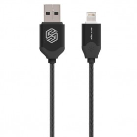 Nillkin Aurora Cable Charge & Sync Lightning Cable for iPhone 6/6+/5/5s - Black