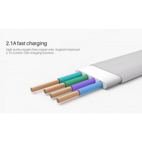 Nillkin Plus III Micro USB and Lightning Sync Data Charging Cable - Gray - 6