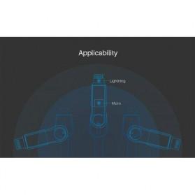 Nillkin Plus III Micro USB and Lightning Sync Data Charging Cable - Gray - 8