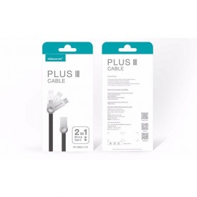 Nillkin Plus III Micro USB and Type-C Sync Data Charging Cable - White - 9