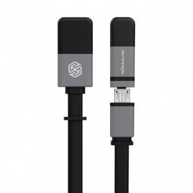 Nillkin Plus II Cable 2 in 1 Charging Cable Lightning & Micro USB - Black