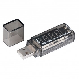 Xtar VI01 USB Detector Power Current and Voltage Tester - Black