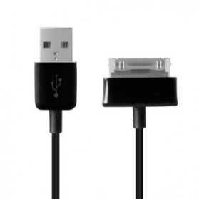 Samsung 30 Pin to USB Cable Adapter for Galaxy Tab P1000 /P3100 /P5100 - Black