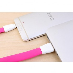 Remax Super Speed Micro USB Cable for Smartphone RC-011m - Pink - 7