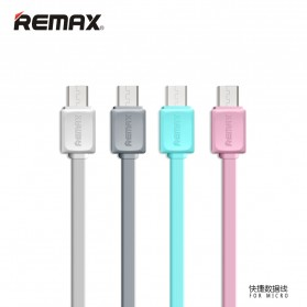 Remax Fleet Speed Micro USB Cable for Smartphone - RC-008 - Gray