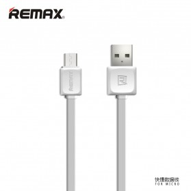 Remax Fleet Speed Micro USB Cable for Smartphone - RC-008 - White - 1