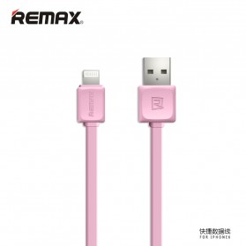 Remax Fleet Speed Lightning Cable for iPhone 5/6/7/8/X - RC-008 - Pink