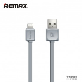 Remax Fleet Speed Lightning Cable for iPhone 5/6/7/8/X - RC-008 - Gray