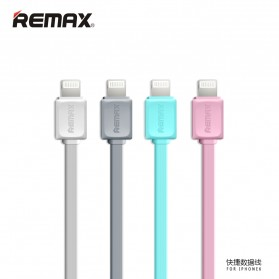 Remax Fleet Speed Lightning Cable for iPhone 5/6/7/8/X - RC-008 - Gray - 2
