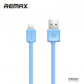 Remax Fleet Speed Lightning Cable for iPhone 5/6/7/8/X - RC-008 - Blue