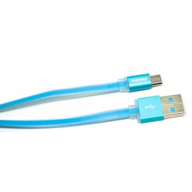 Remax Quick Micro USB Cable for Smartphone - RC-005m - Blue - 1