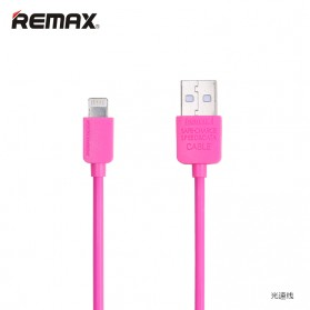 Remax Light Speed Lightning Cable 2m for iPhone 5/6/7/8/X - Rose - 2