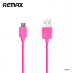 Remax Light Speed Micro USB Cable for Smartphone RC-006m - Rose