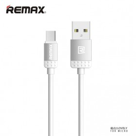 Remax Lovely Micro USB Cable for Smartphone - Gray