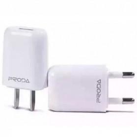 Remax U11 Home Adapter USB Charger EU Plug 1.0A - White