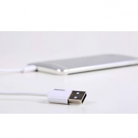 Remax Fast Charging Micro USB Cable for Smartphone - White - 6
