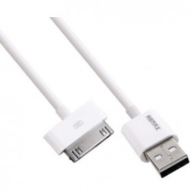 Remax Fast Charging 30 Pin to USB Cable for iPhone 4/4s - White - 4