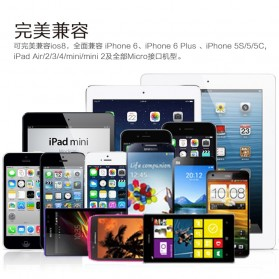Remax Transformer King Kong High Speed Double Sided Micro Usb / Lightning Pin for Smartphone and iPhone 5/6/7/8/X - White - 10