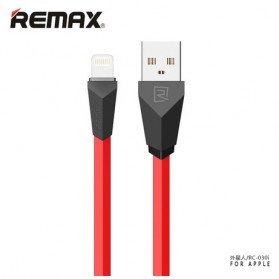Remax Aliens Fast Charging Lightning USB Cable for iPhone 6/7/8/X - RC-030 - Black/Red