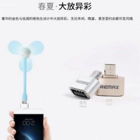 Remax Micro USB to USB OTG Plug for Smartphone - Golden - 6